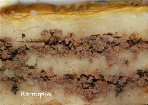 Пошаговый рецепт приготовления картофельной запеканки с фотографиями