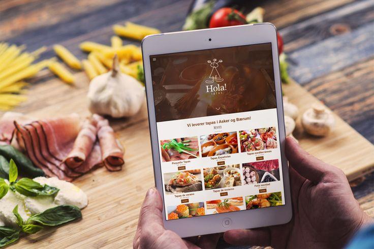 New Logo And Web For Hola Tapas Holatapas Webdesign Web Logo Logodesign Norgesdesign Reklamebyra Design
