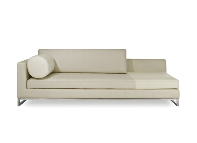hip furniture chi chaise relax into the generously linen chi chaise this peter cardew design adds a sense of understated luxury to any
