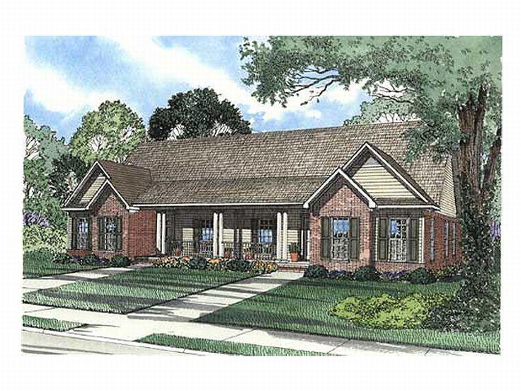12 best multigenerational homes images on pinterest home for Cool house plans duplex