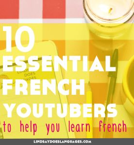 10 Essential French YouTubers to Help You Learn French. Looking for some French…