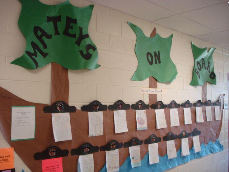 pirate bulletin board ideas | ... Achievement Bulletin Boards and Classroom Ideas | MyClassroomIdeas.com
