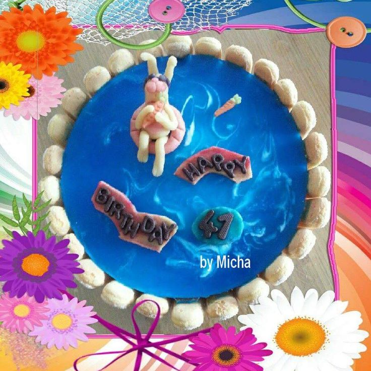 Rezept Micha´s Schwimmbadtorte von Senap - Rezept der Kategorie Backen süß