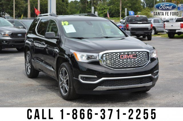 2019 Gmc Acadia Denali V6 3 6l Keyless Entry And Liftgate Release Alloy Wheels Spoiler Tinted Windows Fog Lights Roof R Acadia Denali Suv For Sale