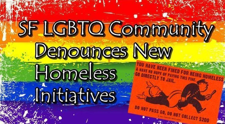 "We, the undersigned, come together as members of the LGBT and Queer communities of San Francisco to demand that Supervisor's Mark Farrell, Scott Wiener, Katy Tang, and Malia Cohen remove your ballot initiatives ""Promotion Of Safe And Open Sidewalks"" and ""Neighborhood Crime Unit in Police Department.""..."