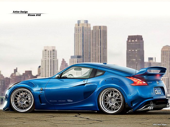 25 Beautiful Examples Of Vehicular Graphics Artworks Nissan Z