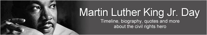 Martin Luther King Jr. Day: Facts, Timeline, History, Activities, Bio | Infoplease.com