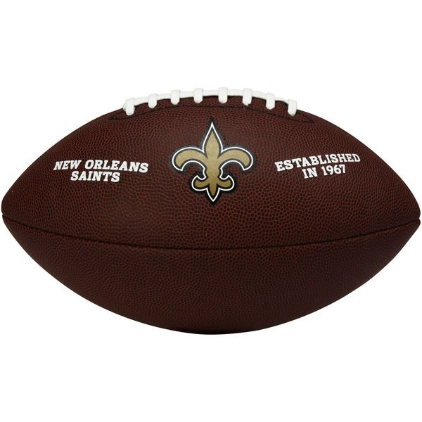 New Orleans Saints Wilson Official Composite Replica Football – Brown - $34.99