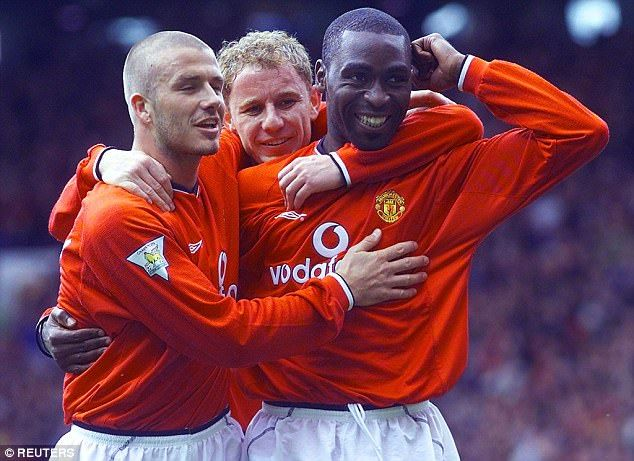 Manchester United legend Andy Cole (right) believes the club will spend big on a striker