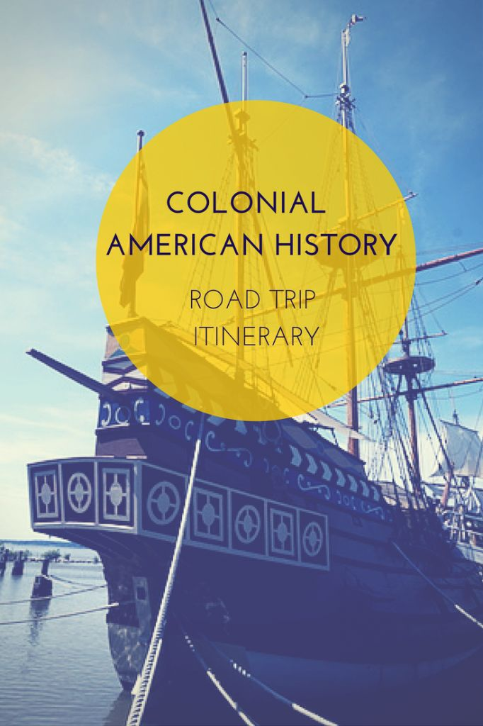 Colonial American History road trip for kids from MA-DC!
