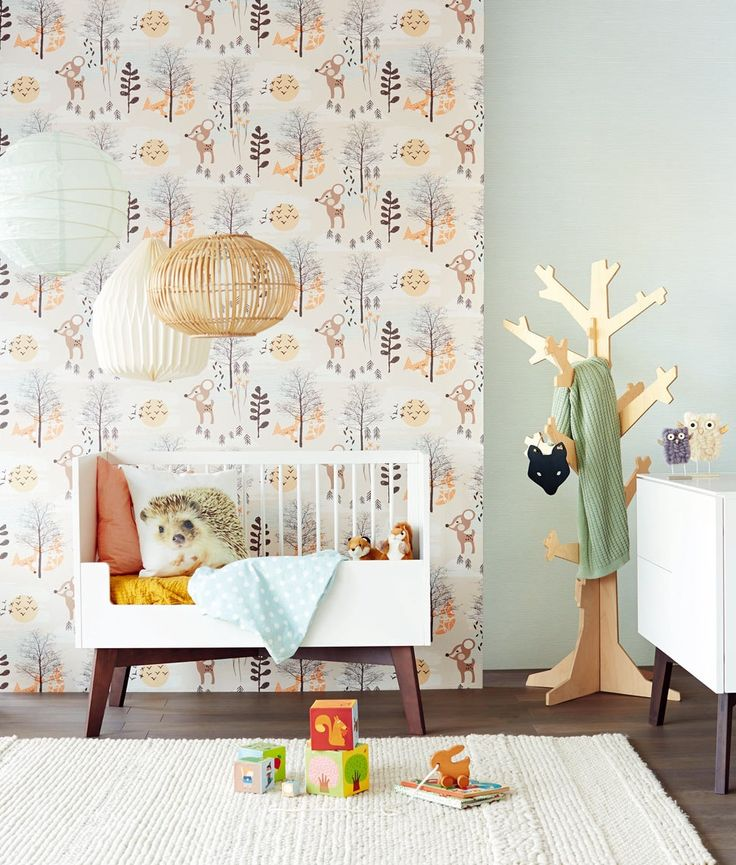 Behang Babykamer Boom.Behang Voor De Kinderkamer Inspiraties Of Behang Kinderkamer