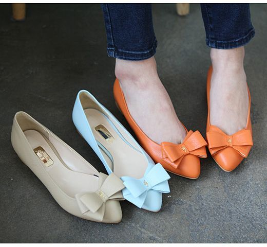 pointed bow flats.