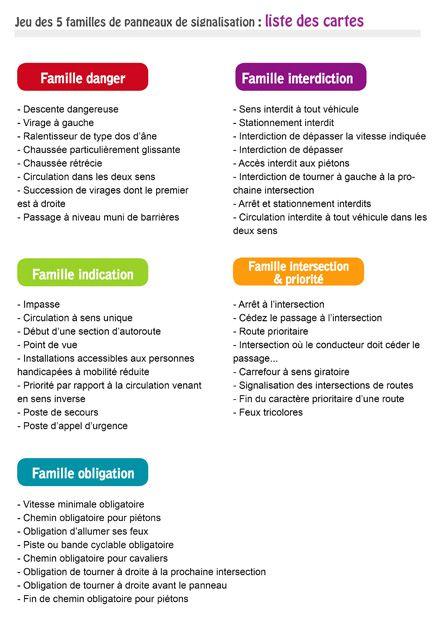 Populaire 7 best Code de la route. images on Pinterest | Montessori  OJ61