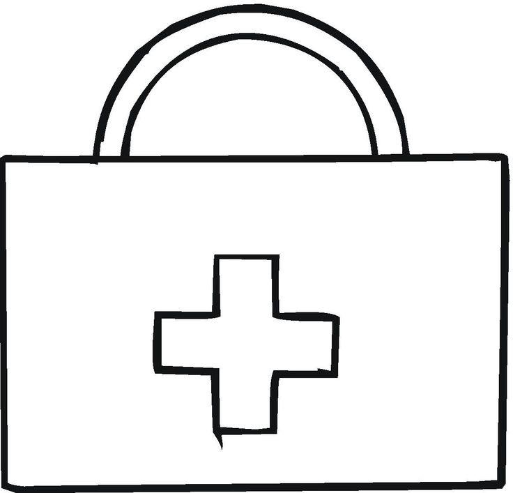 Botiquín, médicos, algodón, tiritas, manualidad infantil, community helpers