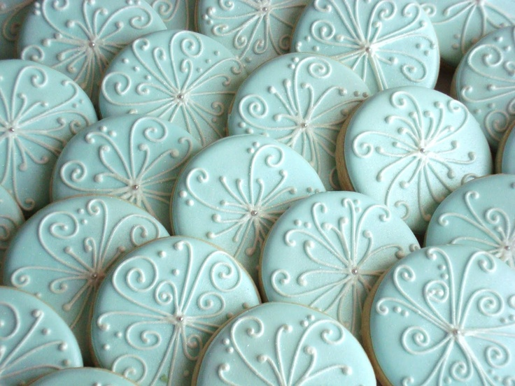 Royal icing: Cookie piping idea