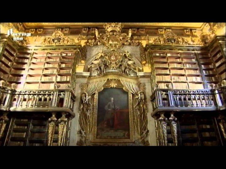 Visita Guiada RTP2 Biblioteca Joanina , Coimbra Part 1 2 Como é que se conserva esta biblioteca? Digitalizam os livros?
