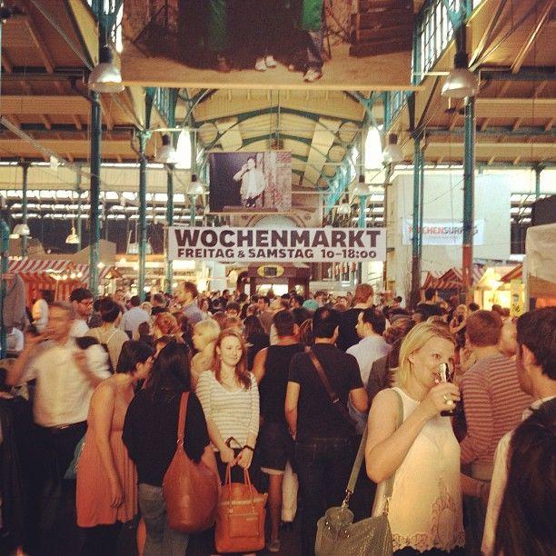 Markthalle Neun ¦ Thursday street food market ¦ Zona: Schlesisches tor www.markthalleneun.de/