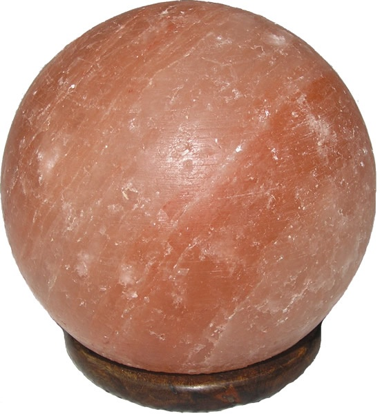 Sphere Shape Himalayan Salt Lamp [LASABAL] - $43.20 :