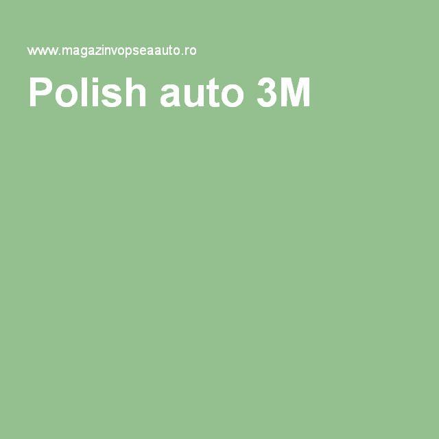 Polish auto 3M