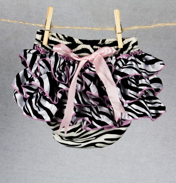 Zebra print bottoms found at teablossomkids.com