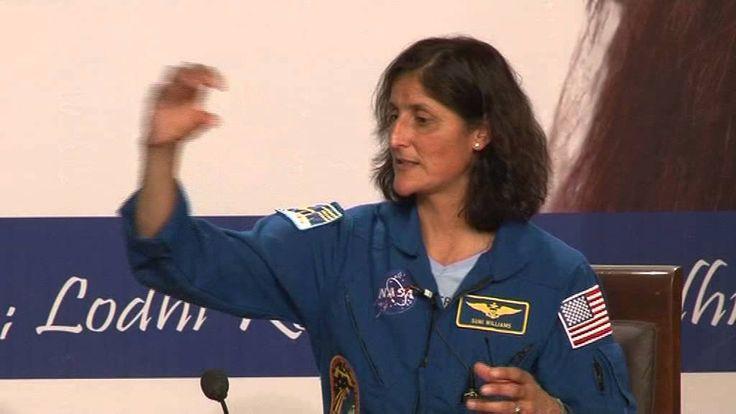 Captain Sunita Williams, In Conversation with Sachin Bahmba, CMD-SPACE G...