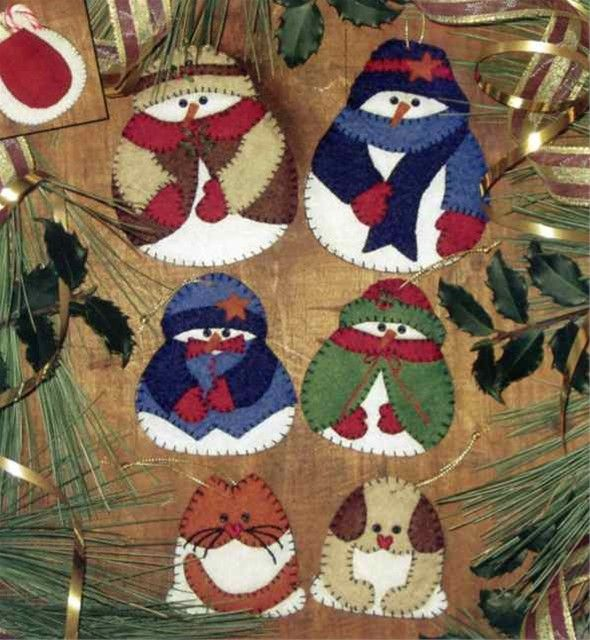 Free Felt Christmas Ornament Patterns Free Embroidery
