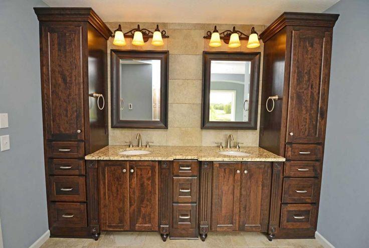 Best 25 custom bathroom cabinets ideas on pinterest - Custom bathroom vanities houston ...