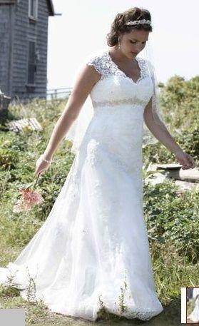 David's Bridal 9T3299 , $649 Size: 16W | Used Wedding Dresses