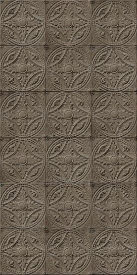 papier peint plaques victoriennes antiques gris taupe 012p07x6 par koziel wallpaper