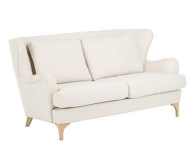 Zweisitzer-Sofa Lory, beige, B 177 cm