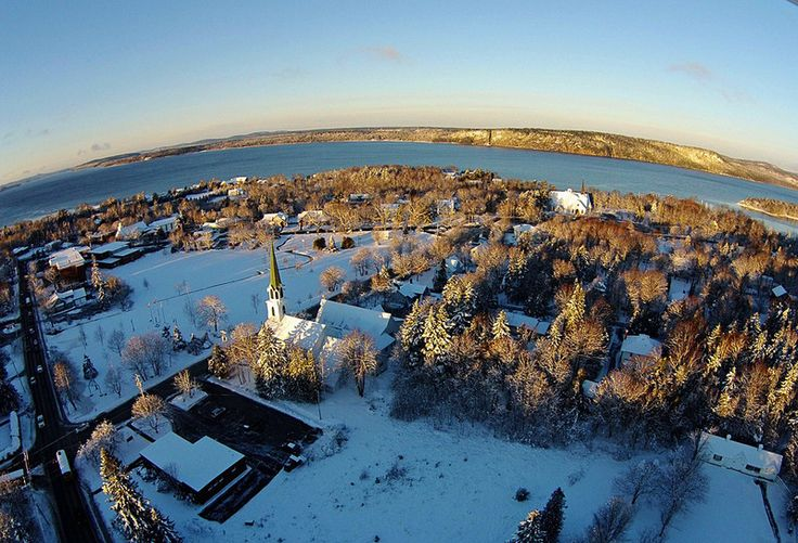 Aerial Panorama - Rothesay, New Brunswick Canada