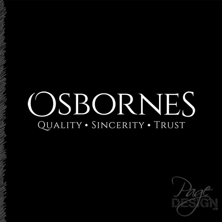 Logo design for Osbornes Funeral Directors, Rotorua, New Zealand