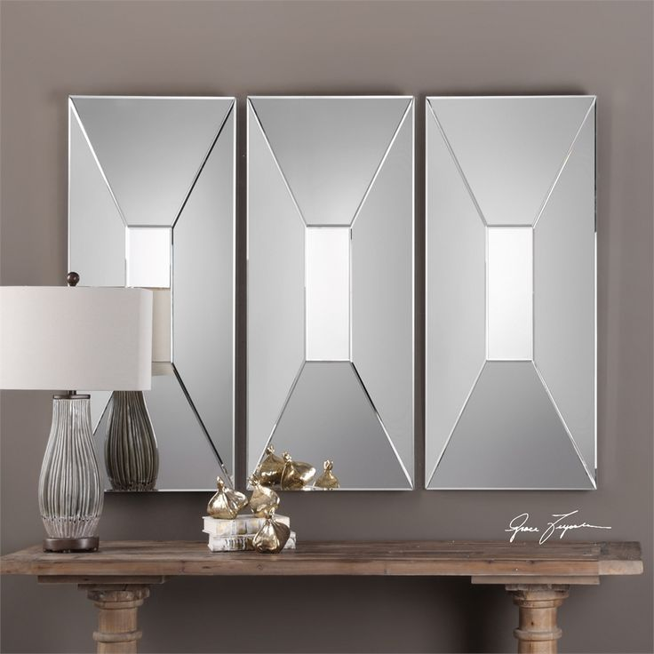1  Vilaine Mirror Contemporary Modern Style   Premier Home Decor