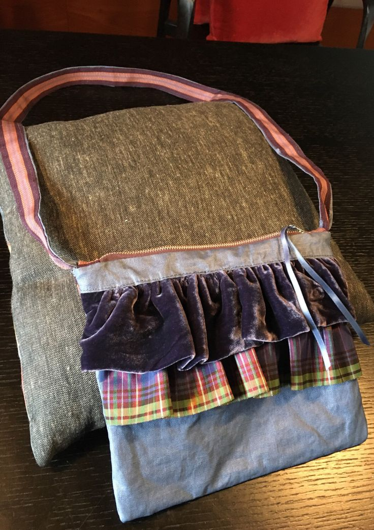 A personal favourite from my Etsy shop https://www.etsy.com/listing/495043733/the-velvet-and-tartan-bag