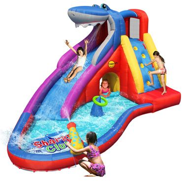 Shark Club Bruce Wet & Dry Water Slide Inflatable water