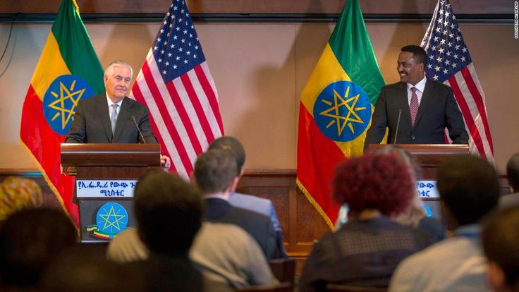 Secretary of State Rex Tillerson set out this week for his first trip to sub-Saharan Africa, where he is holding meetings with influential leaders across the continent.