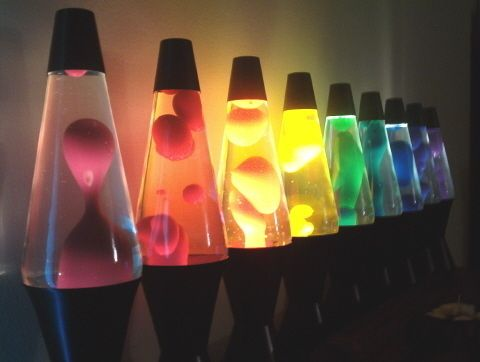 Cool Lava Lamps for Sale | cool, lava lamps, rainbow - image #202603 on Favim.com