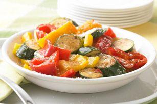 Zesty Grilled Veggies