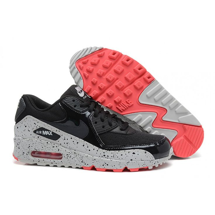 Runing Shoes, Air Max 90 Black, 90s Shoes, Nike Air Max 90s, Nike Women,  Ps, Html, Sneakers, Gray