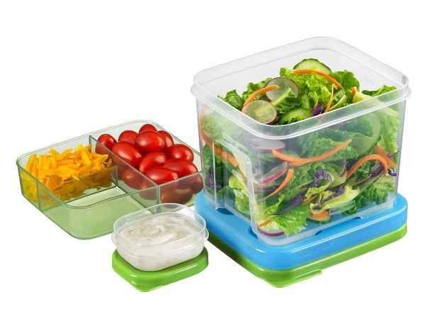 Salad Lunchbox Tupperware