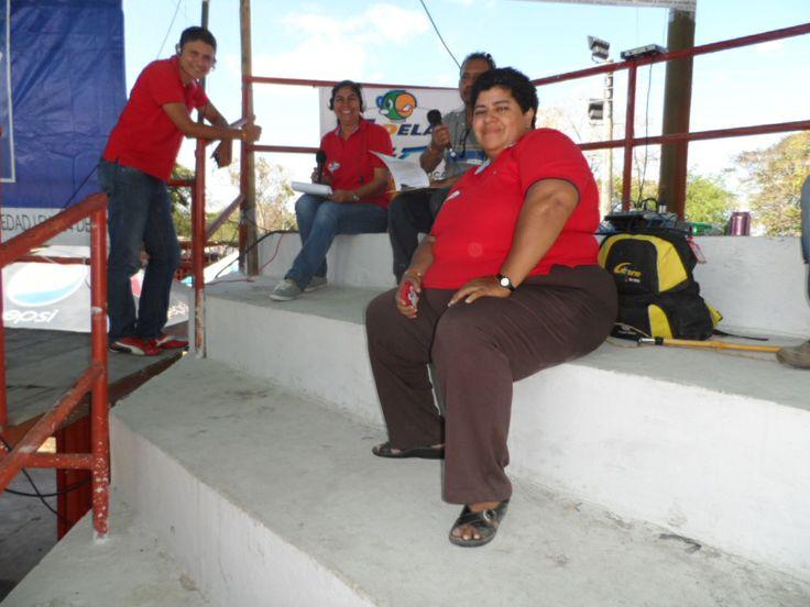 Equipo de la emisora Merdiano 70 am, municipio de Arauca.
