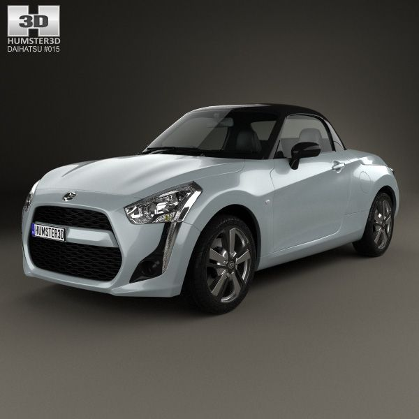 Daihatsu Copen Robe 2014 3d model from humster3d.com. Price: $75
