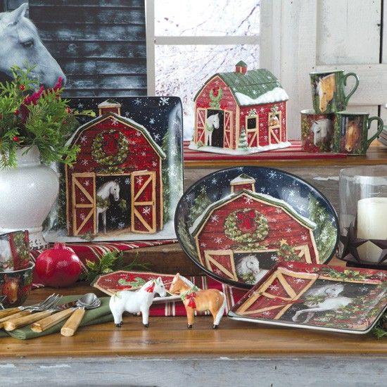 Heartland Holiday Dinnerware Collection
