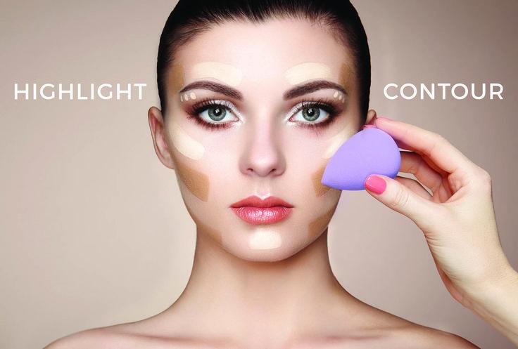 Highlight & Contour Your Face with Vivre Jolie's Beauty Blending Sponge   #beauty