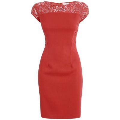 Almari Lace Pencil Dress