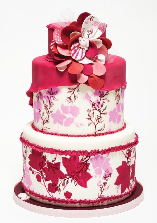 516 best Pink Wedding Cakes images on Pinterest Biscuits