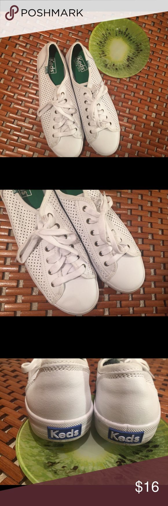 😎Cool😎 Women Leather Ked's Size 9 😎Cool😎 Women Leather Ked's Size 9 . Good condition.    No rips or holes. Smoke and odor free environment.  Please review photos carefully and email me with any questions. Keds Shoes Sneakers