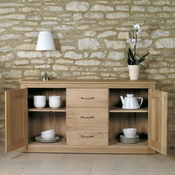 Great Savings Across Our Reproduction Furniture Range Including This Classic Baumhaus Mobel Oak Large Sideboard Call Freephone On 0800 040 7719 Now