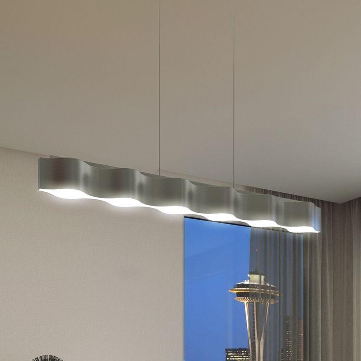 Beautiful VONN Lighting Asellus inches LED Chandelier Adjustable Hanging Light Modern Linear Chandelier Lighting