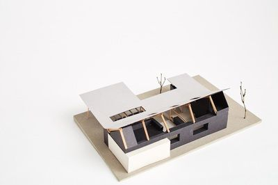 Architectural Model - Westview St House, Scarborough. Philip Stejskal Architecture